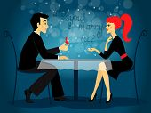 stock photo of marriage proposal  - Will you marry me - JPG