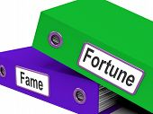 Fortune Fame Folders Mean Rich Or Well Known
