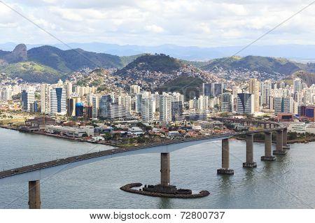 Third Bridge (terceira Ponte), Vitoria, Vila Velha, Espirito Santo, Brazil
