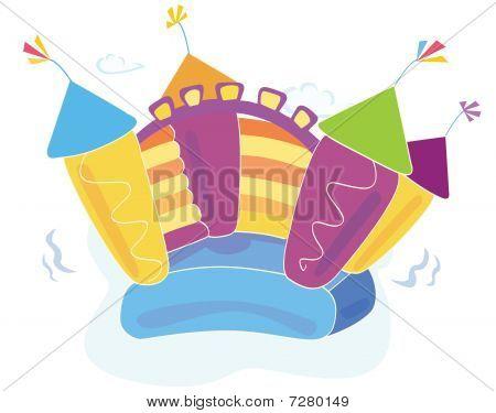 Vector bouncy castle