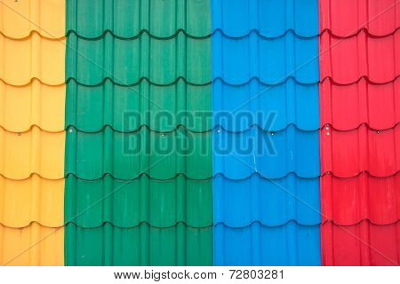 Colorful Metal Sheet Roof