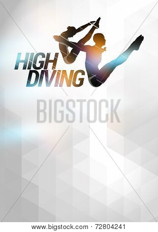 High Diving Background
