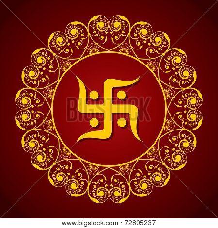 Creative Diwali greeting vector illustration