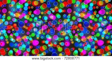 Multicolored Blur Lights