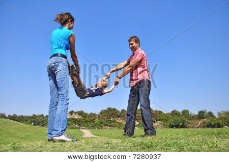 Parents Shake Their Son