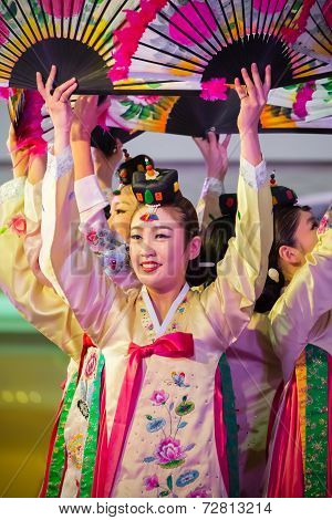 Korean Traditional Dance in Bangkok - Korean Festival