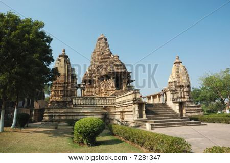 Lakshmana Temple At Khajuraho,india,madhya Pradesh