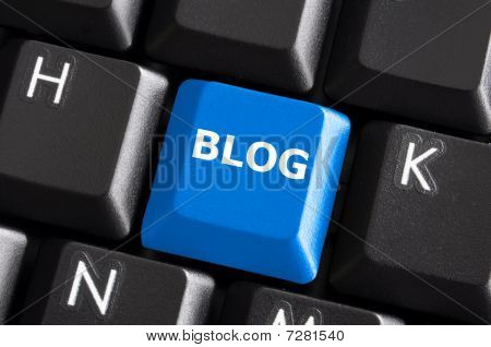 Blueblog Button