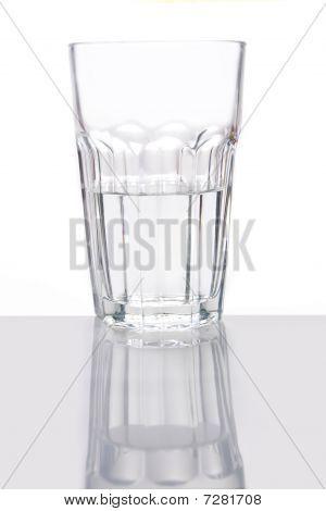 Mitad de cristal
