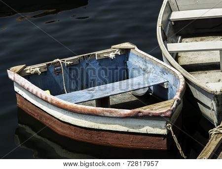 Old Wooden Rowboats