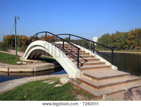 Bridge Over Pond