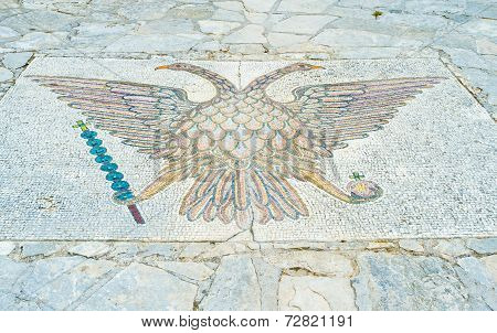 Mosaic On The Floor