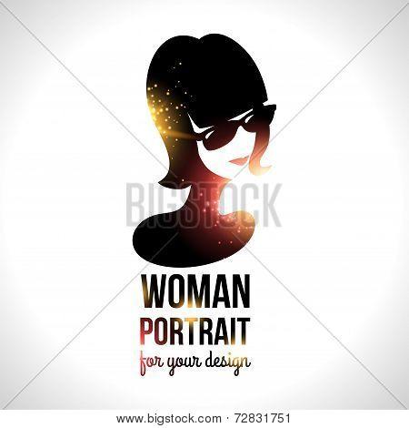 Woman in sunglasses.