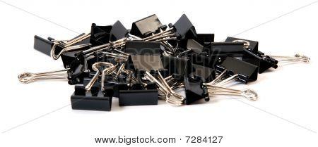 Binder Clip Pile