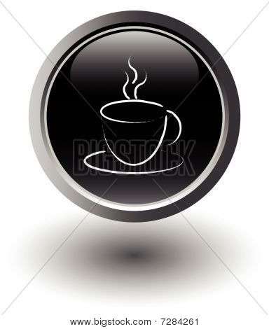 black coffee icon