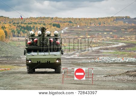 Buk-M1-2 surface-to-air missile systems