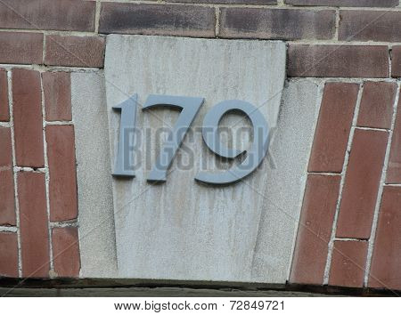 House Number 179