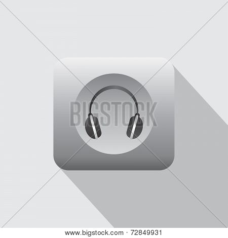 Headphone Music Icon