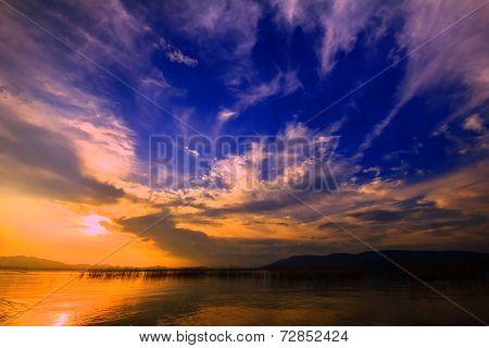 Landscape Sky And Sun