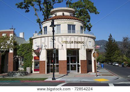 Wells Fargo Bank in Yountville