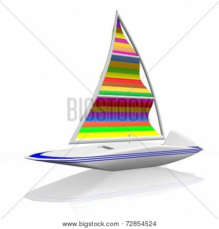Wind Surfing Sail Boat Raft Canoe