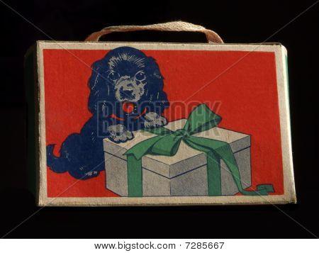 Caixa de presente vintage