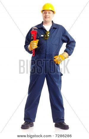 Trabajador de plomero