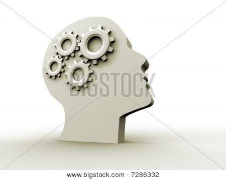 Intelligenz-Konzept
