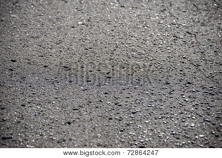 Piece Of Tarmac Road