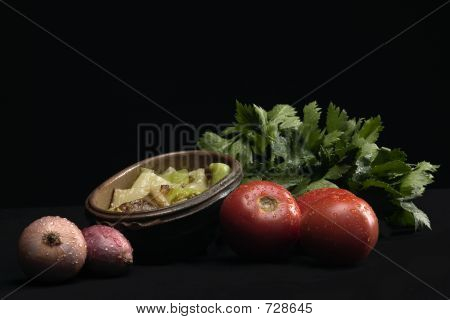 Vegetables With Flavoring