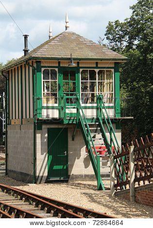 Railway Signal Box.