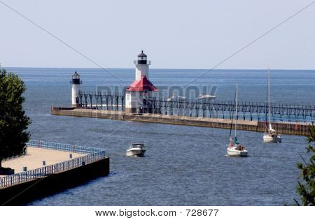 St Joseph Lighthouse & Pier
