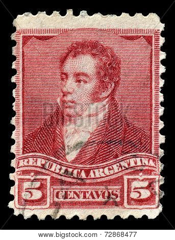 Rivadavia stamp 1892