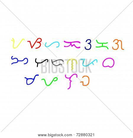 The Colorful Old Alibata Script
