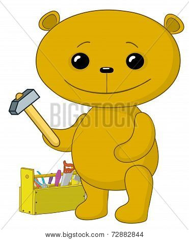 Toy bear worker