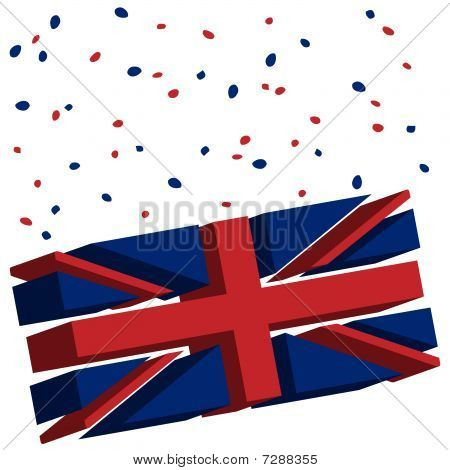 Union Jack Abstract Flag