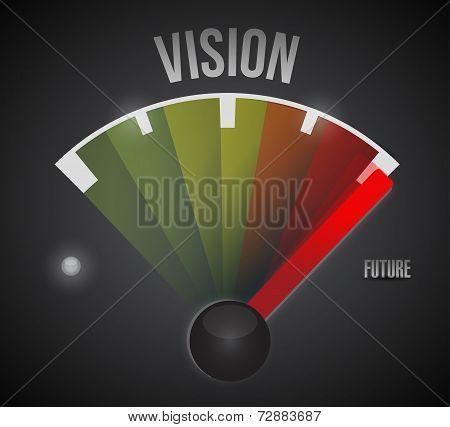 Vision To The Future Illustration Design