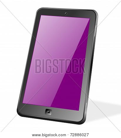 Touchscreen Smartphone Or Tablet