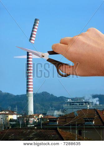 Redução das emissões