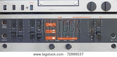 Audio Tape Recorder Old Construction