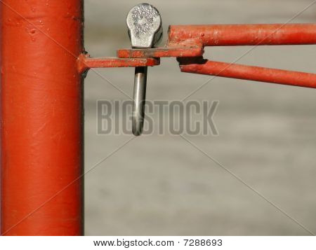 Red barrier