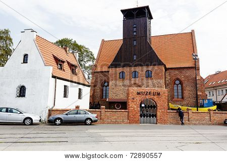 The Fishing Museum In Hel, Poland