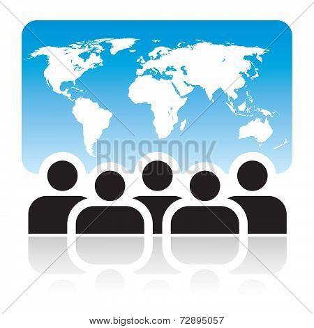 Global Meeting Sign