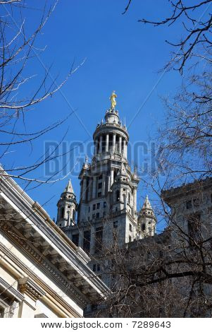 The Municipal Building in New York City