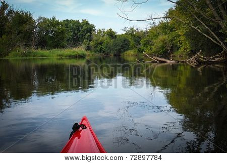 Kayaking Upstream