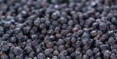 pic of chokeberry  - Heap of dried Chokeberries for use as background image or as texture - JPG
