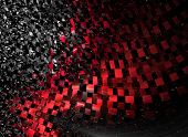 picture of gamma  - Intriguing abstract techno background with elements of metal - JPG
