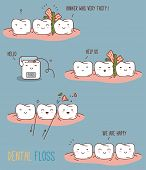 foto of oral  - Vector illustration for children dentistry and orthodontics - JPG
