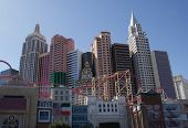Las Vegas New York Skyline