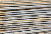 pic of rod  - iron reinforcement rods in the background - JPG